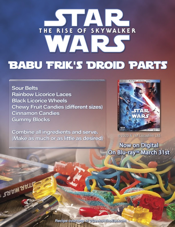 STAR WARS RECIPE: