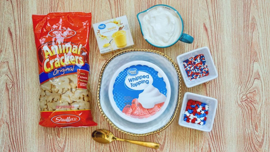Patriotic Dunkaroo Dip Recipe!
