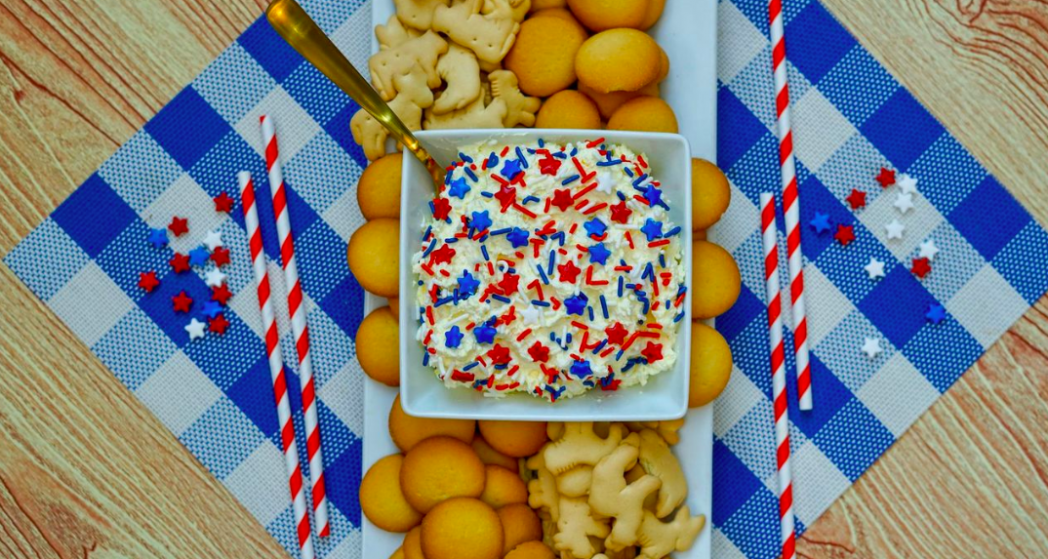 Patriotic Dunkaroo Dip Recipe!