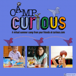 Camp Curious- A Virtual Camp that has Everything and more! Sign up today!