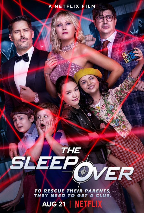 Netflix, The Sleepover, Virtual Press Conference!