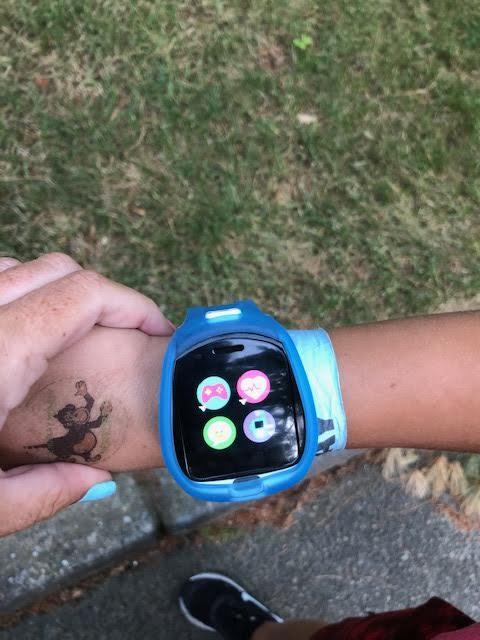 Zane LOVES the Tobi Kids Smartwatch!