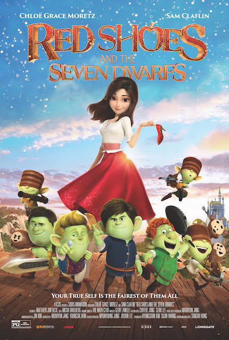 Lionsgate's Red Shoes and the Seven Dwarfs Now Available on DVD and Digital!