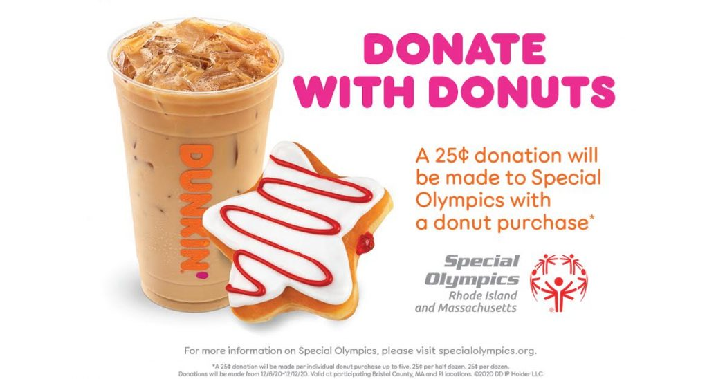 Dunkin' Helps Special Olympics + A Slew of Dunkin Donuts Gift Card Giveaway!