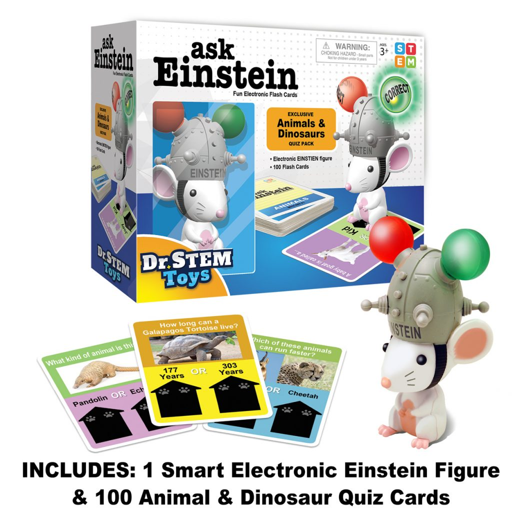 ask EINSTEIN Electronic Flash Cards for Kids!