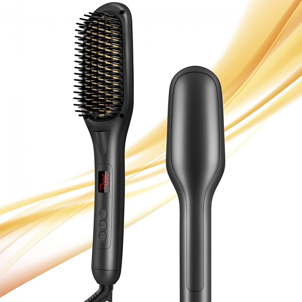 Hot Comb Straightener for Quick Hair Salon at Home!