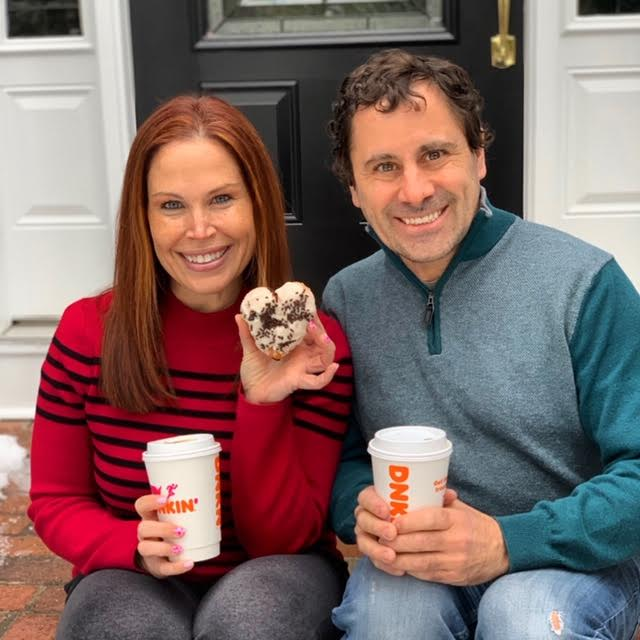 Love is in the air with Dunkin'!