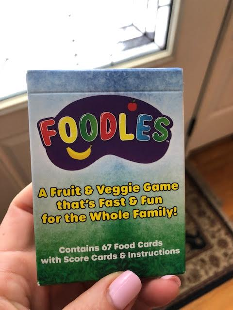 Foodles Card Game for Kids of all Ages!