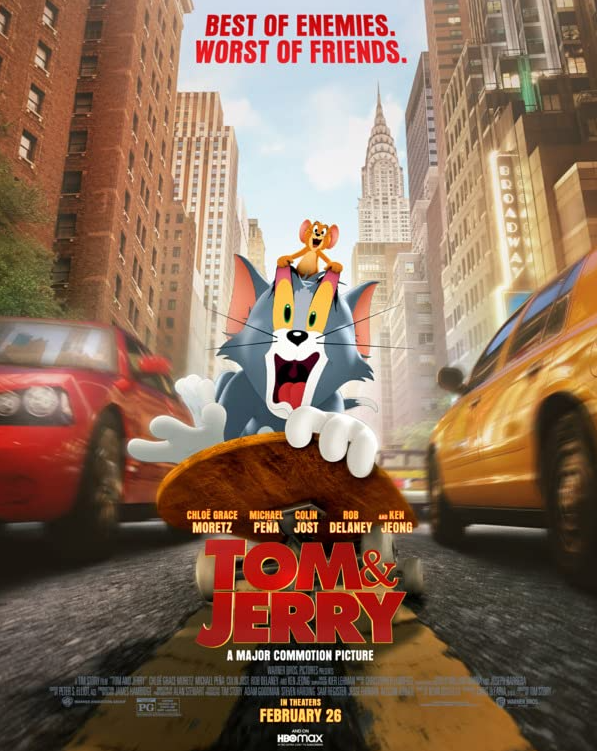 Tom and Jerry Movie Review Plus Unboxing!