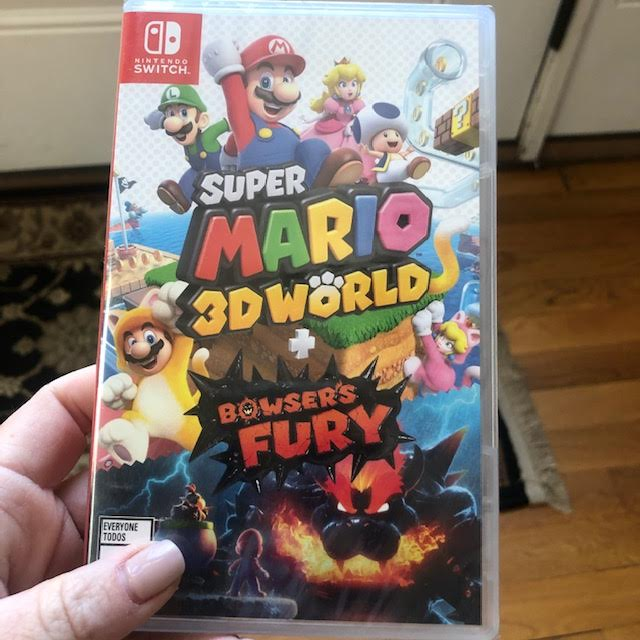 Super Mario 3D World + Bowsers Fury for Nintendo Switch!