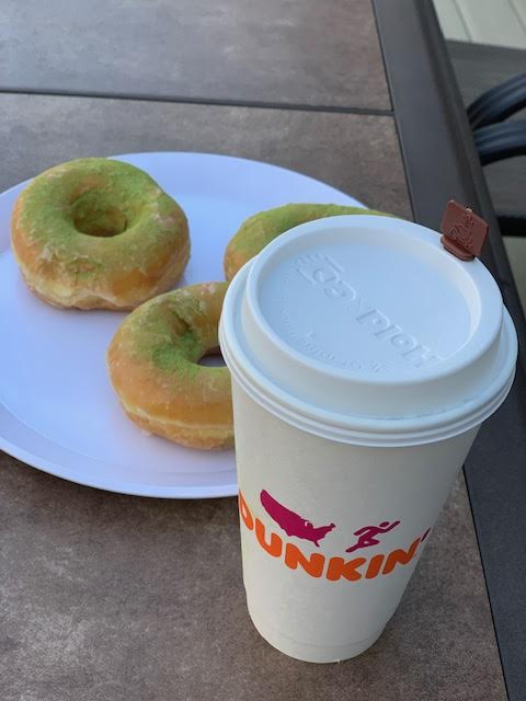 It is Matcha Time at Dunkin'!