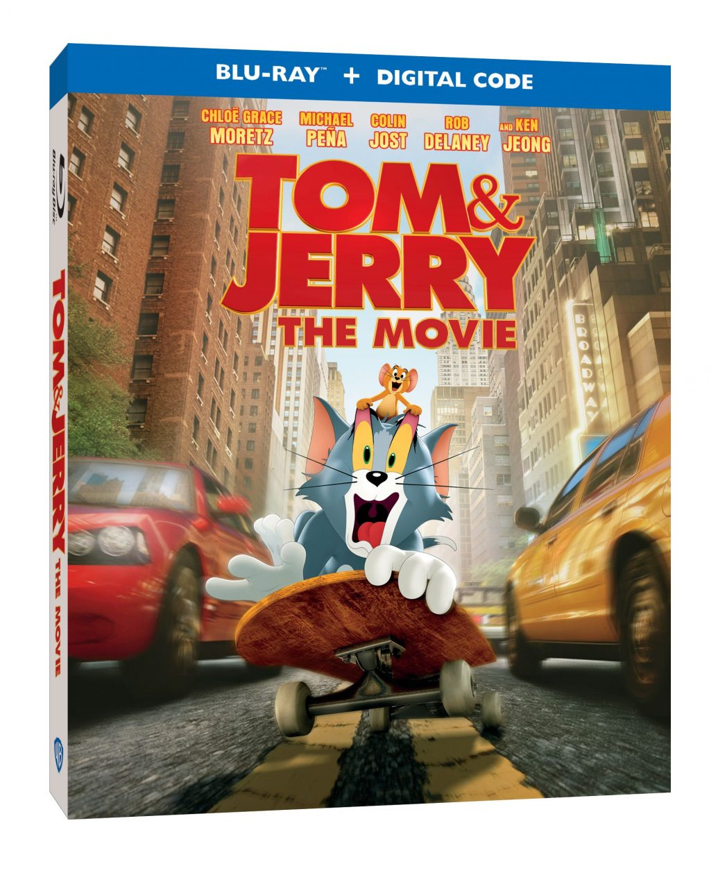 Tom +Jerry The Movie DVD/Blu-Ray Giveaway