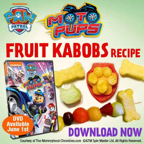 PAW Patrol Moto Pups Recipe!