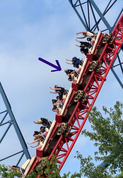Fabulous Day At Six Flags, New England!