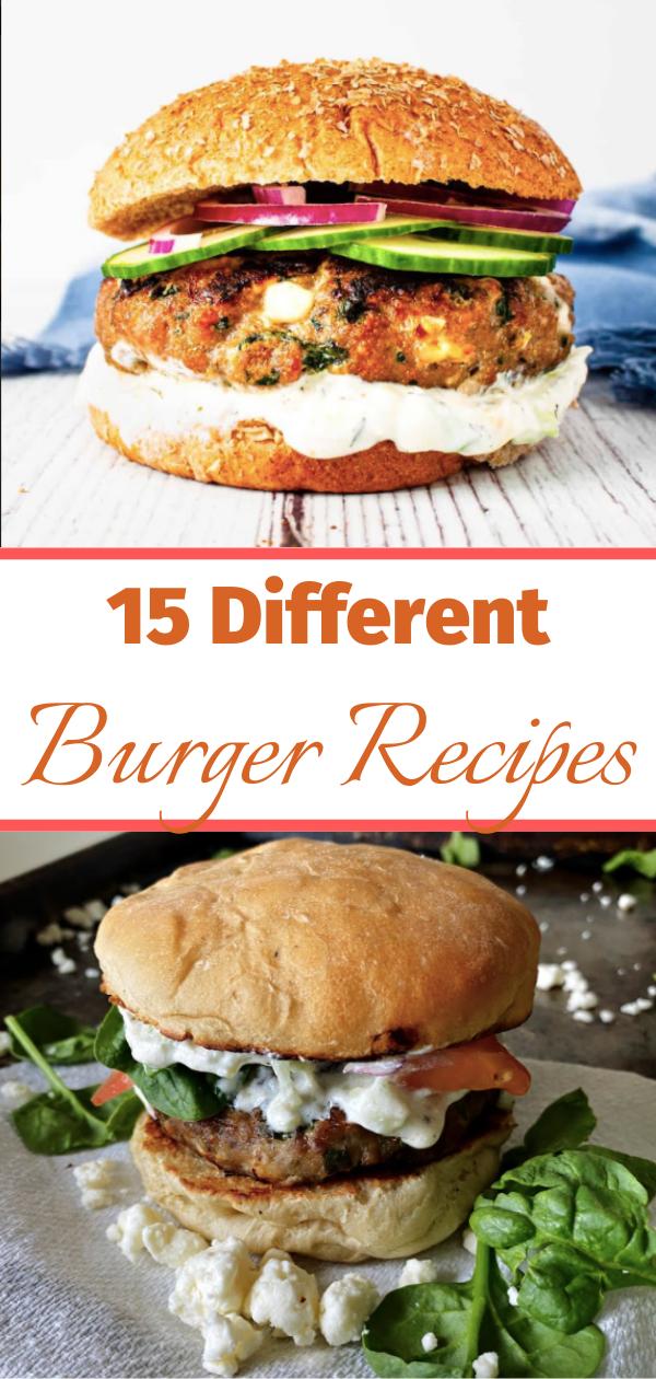 15 Best Burger Recipes